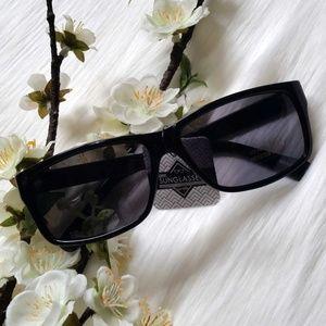 Leopard/Tortoiseshell Retro Square Sunglasses